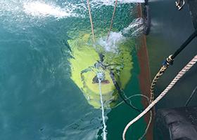 해저지형탐사 사진 리스트
